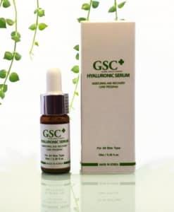 Serum tinh chất cấp nước dưỡng ẩm GSC+ HYALURONIC 10ml